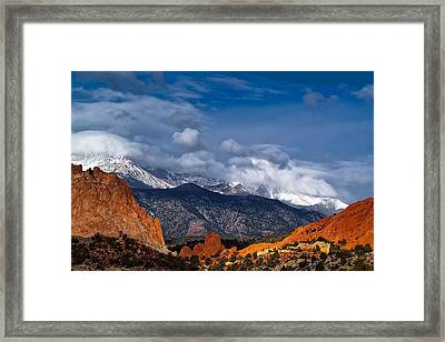 America The Beautiful Framed Print by Tim Reaves