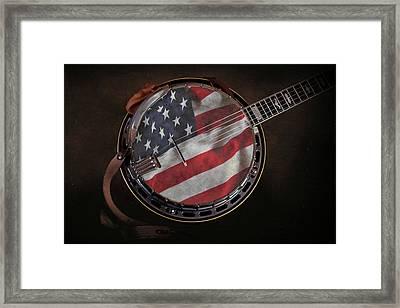 American Bluegrass Music Framed Print by Tom Mc Nemar