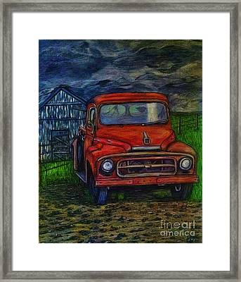 American Heritage Framed Print by Lori Lee