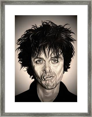 American Idiot Framed Print by Fred Larucci