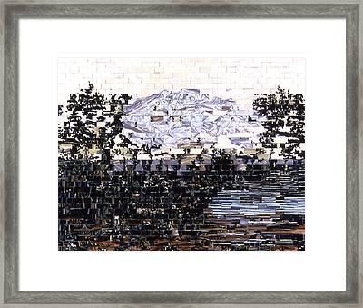 American Landscape After Frances Framed Print by Karl Frey