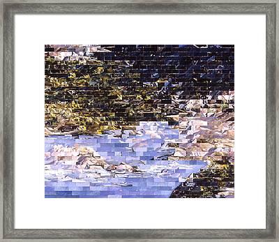 American Landscape After Meg Framed Print by Karl Frey