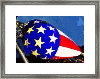 American Legend Framed Print by David Lee Thompson