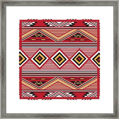 American Native Art No. 1 Framed Print by Henrik Bakmann