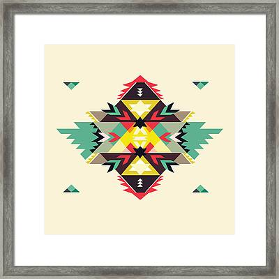American Native Art No. 11 Framed Print by Henrik Bakmann