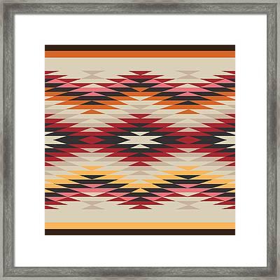 American Native Art No. 17 Framed Print by Henrik Bakmann