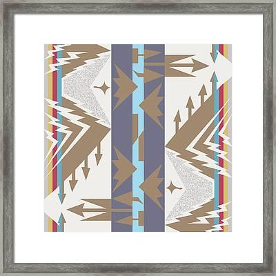 American Native Art No. 20 Framed Print by Henrik Bakmann