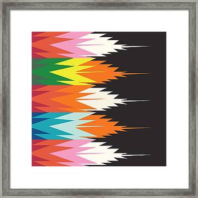 American Native Art No. 4 Framed Print by Henrik Bakmann