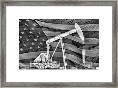 American Oil Framed Print by JC Findley