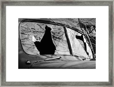 American Outlaw Framed Print by Luke Moore