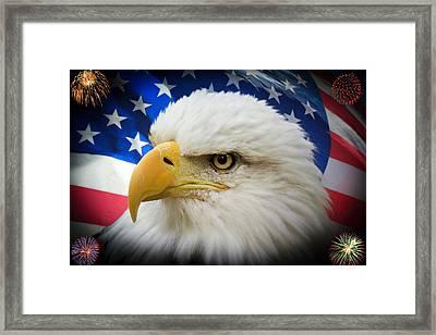 American Pride Framed Print by Shane Bechler