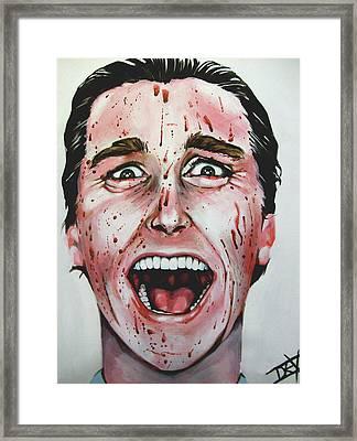 American Psycho Framed Print by Danielle LegacyArts