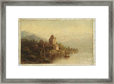 American Title Chateau Framed Print by Thomas Addison