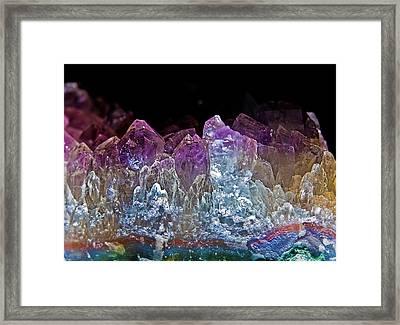Amethyst Framed Print by Jim DeLillo