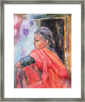 Amma Framed Print by Kate Bedell