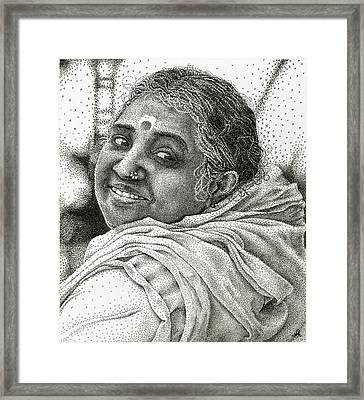 Amma Framed Print by Nathalie Ando