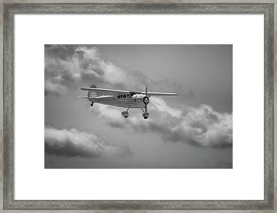 Among The Clouds Framed Print by Guy Whiteley
