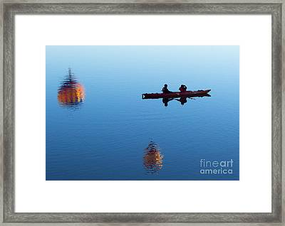 Among The Heavens Framed Print by Mike Dawson