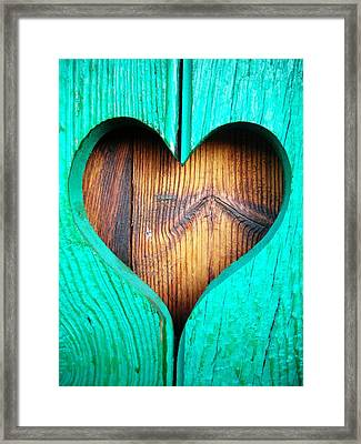 Amor ... Framed Print by Juergen Weiss