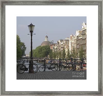 Amsterdam Bridge Framed Print by Andy Smy