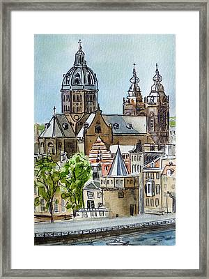 Amsterdam Holland Framed Print by Irina Sztukowski