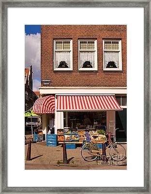 Amsterdam Framed Print by Louise Heusinkveld