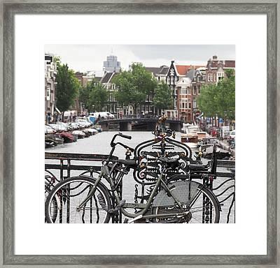 Amsterdam Framed Print by Rona Black