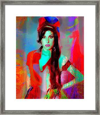 Amy Framed Print by Mal Bray