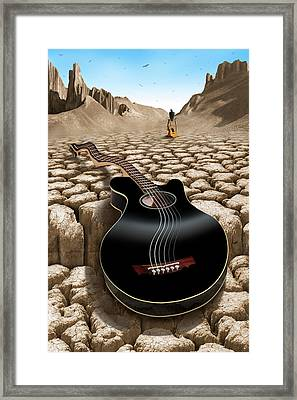 An Acoustic Nightmare 2 Framed Print by Mike McGlothlen