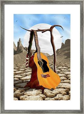 An Acoustic Nightmare Framed Print by Mike McGlothlen