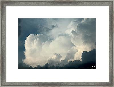 An Angry Old Man Framed Print by Ed Smith