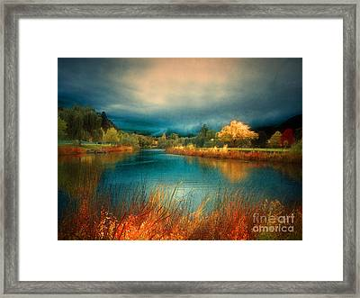 An Autumn Storm Framed Print by Tara Turner
