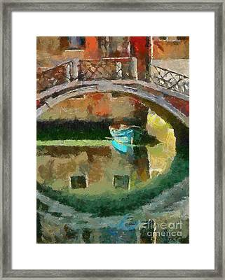 An Early Morning In Venice Framed Print by Dragica  Micki Fortuna