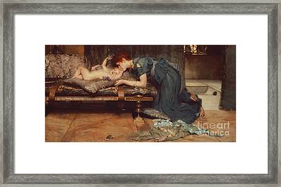 An Earthly Paradise Framed Print by Sir Lawrence Alma-Tadema