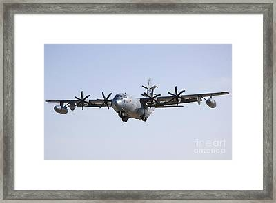 An Ec-130j Commando Solo Aircraft Framed Print by Stocktrek Images