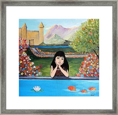 An Imaginative Mind Framed Print by Reb Frost