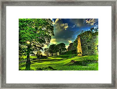 An Irish Fantasy Framed Print by Kim Shatwell-Irishphotographer