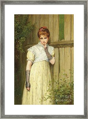 An Old Tale Retold  Framed Print by Charles Sillem