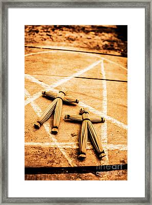 An Unholy Alliance Framed Print by Jorgo Photography - Wall Art Gallery