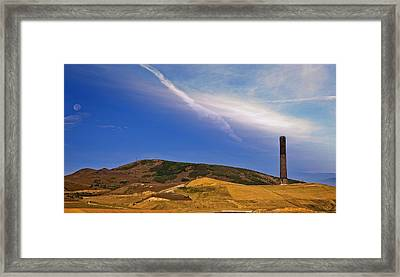 Anaconda Montana - The Stack Framed Print by Image Takers Photography LLC - Laura Morgan