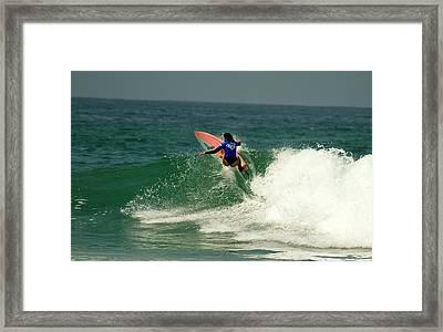 Anastasia Ashley Usa Framed Print by Waterdancer