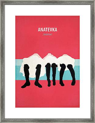 Anatevka Framed Print by Fraulein Fisher