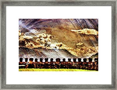 Ancient Citadel Framed Print by Andrea Barbieri