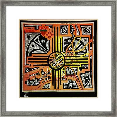 Ancient Echoes Framed Print by John Parish