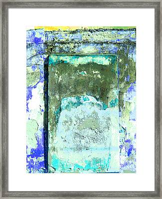 Ancient Wall 2 By Michael Fitzpatrick Framed Print by Mexicolors Art Photography