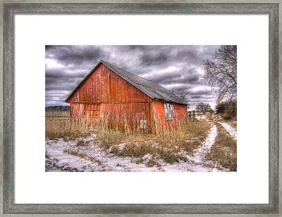 ..and Morning Brings Another Empty Day  Framed Print by Russell Styles