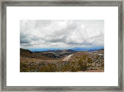 And Round And Round We Go Framed Print by L Cecka