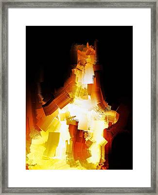 And The Angel Said Do Not Fear Framed Print by Michael Durst