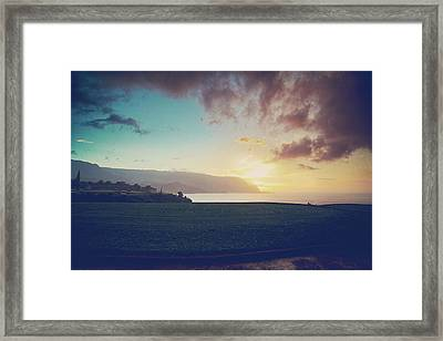 And The Rain Came Framed Print by Laurie Search