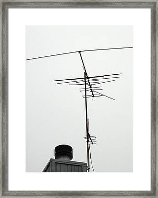 And Then An Antenna Framed Print by Ross Odom